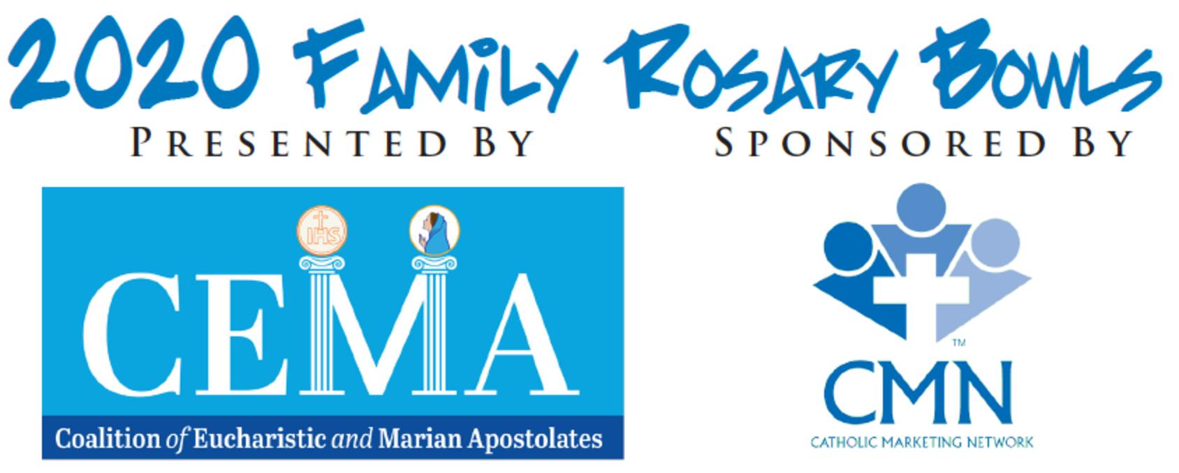 2020 Family Rosary Bowls