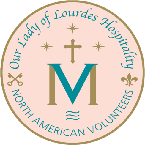 Our Lady Of Lourdes Insignia