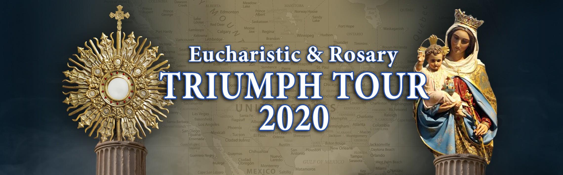 Triumph Tour 2020 Banner