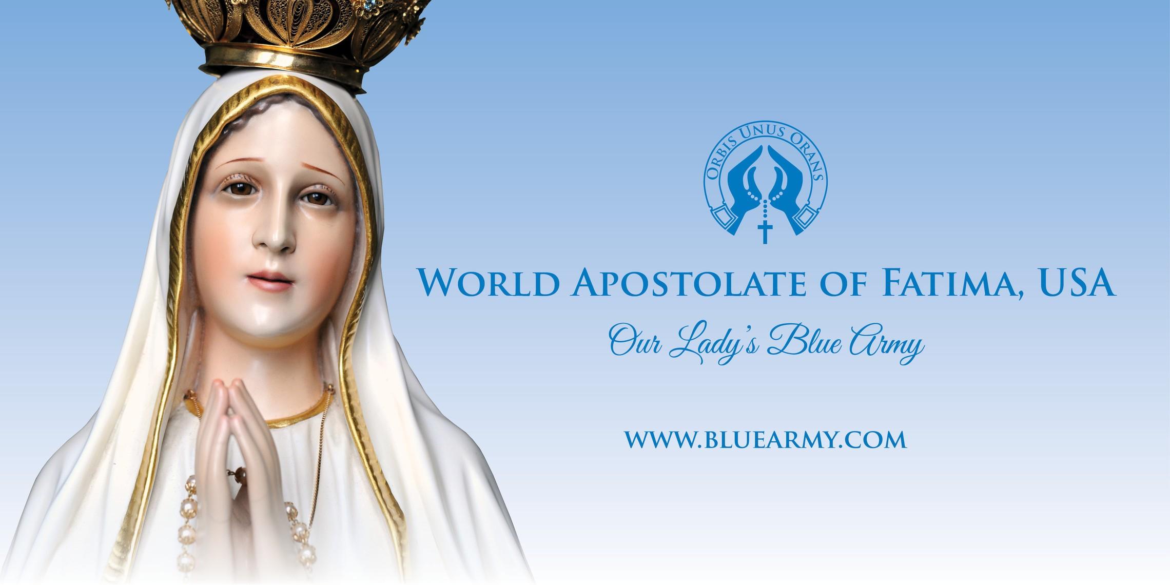 World Apostolate Of Fatima Usa Graphic