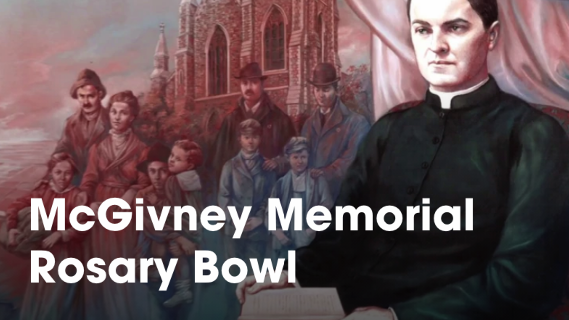 Mcgivney Memorial Rosary Bowl
