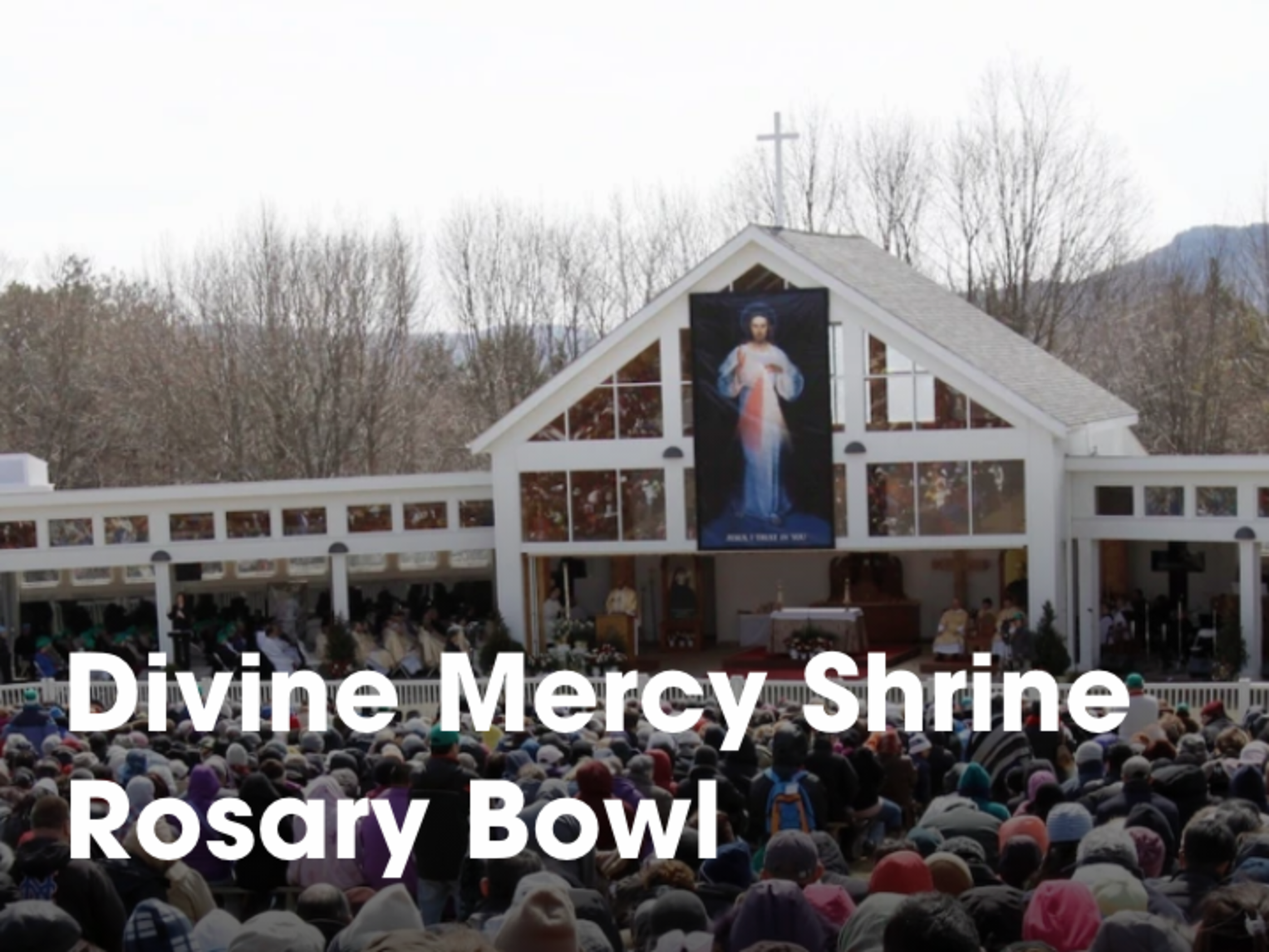 Divine Mercy Rosary Bowl